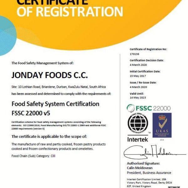 CT-FSSC22000
